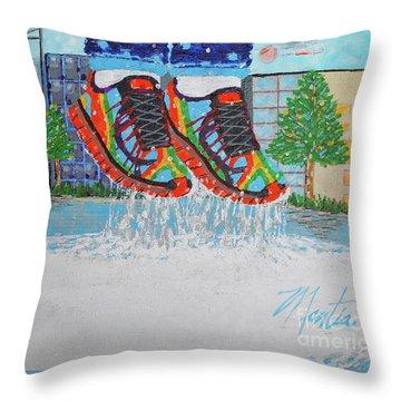 Mia's Water Sport Throw Pillow