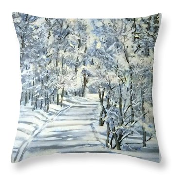 Micas Mile- Sundance Nordic Center Throw Pillow