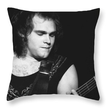 Michael Anthony Throw Pillow by Ben Upham