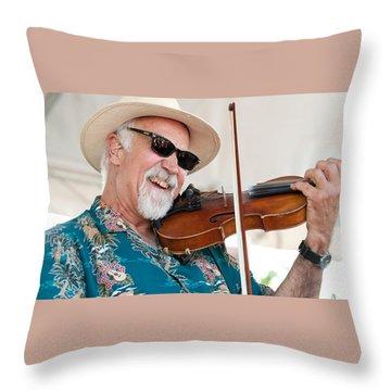 Michael Doucet Throw Pillow
