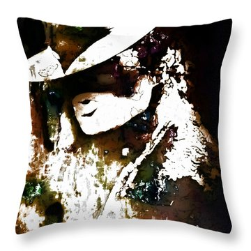 Micheal Jackson Throw Pillow