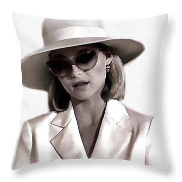 Michelle Pfeiffer Throw Pillow