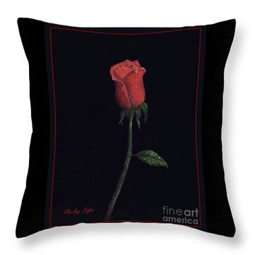 The Perfect Rose 2 Throw Pillow