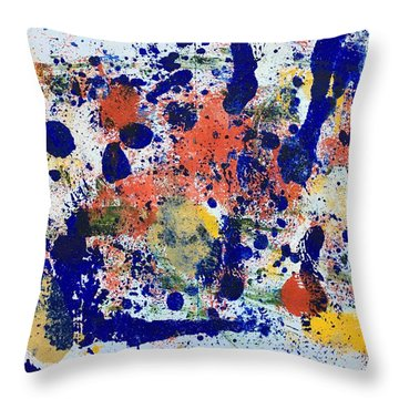 Michigan No 2 Throw Pillow