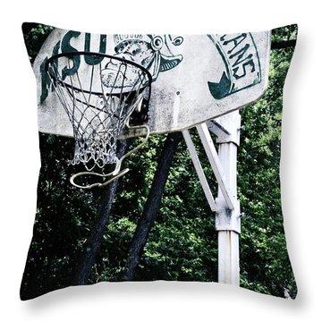 Michigan State Practice Hoop Throw Pillow