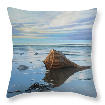 Mid February Throw Pillow