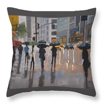 Mid Town Throw Pillow