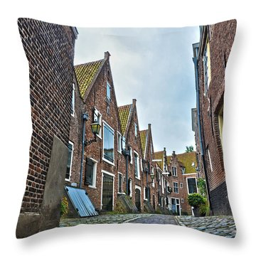 Middelburg Alley Throw Pillow