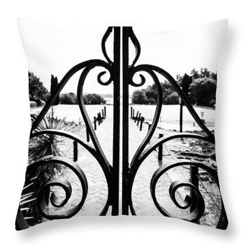 Middleton Gates Throw Pillow