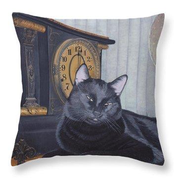 Midnight Throw Pillow