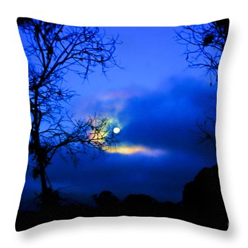 Midnight Clouds Throw Pillow by Blair Stuart