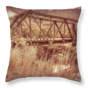 Midnight Crossing Throw Pillow