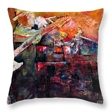 Midnight Ensemble Throw Pillow