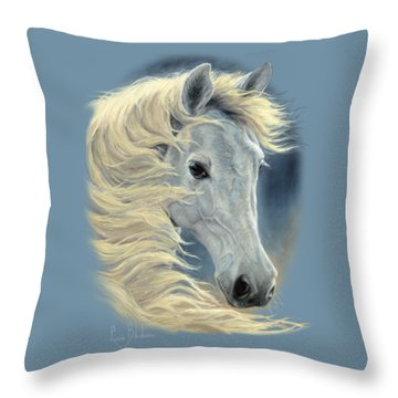 Midnight Glow Throw Pillow