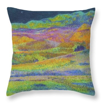 Midnight Magic Dream Throw Pillow