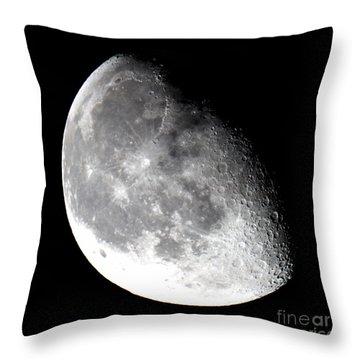 Midnight Moon 5-9-15 Throw Pillow