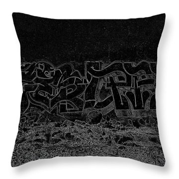 Midnight Mythology Throw Pillow