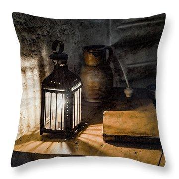 Paris, France - Midnight Oil Throw Pillow