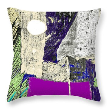 Midnight On The Water Throw Pillow