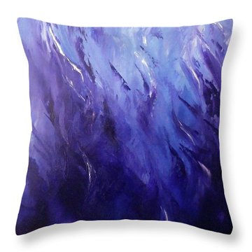 Midnight Passion 1 Throw Pillow