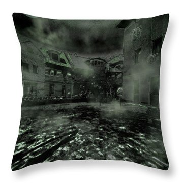 Midnight Ramblings Throw Pillow by Mimulux patricia no No