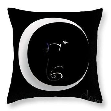 Moonlight Rendezvous 2 Throw Pillow