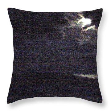 Midnight Throw Pillow by Priscilla Richardson