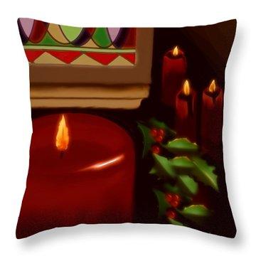 Midnight Service Throw Pillow