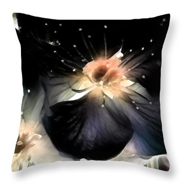 Midnight Sun Throw Pillow by John Poon