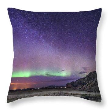 Midnight Symphony Throw Pillow