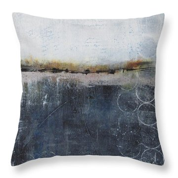 Midnight Whispers Throw Pillow
