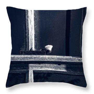 Midnight Window Throw Pillow