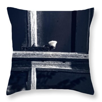 Midnight Window Throw Pillow
