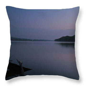 Midnite Blue Throw Pillow