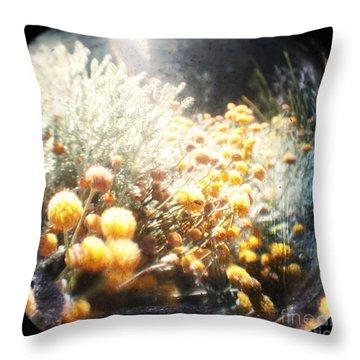 Midsummer Throw Pillow by Andrew Paranavitana