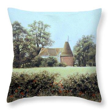 Midsummer Dream Throw Pillow