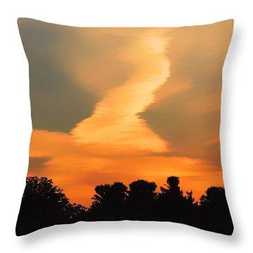 Midsummerset Throw Pillow
