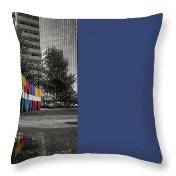 Midtown Atlanta Throw Pillow