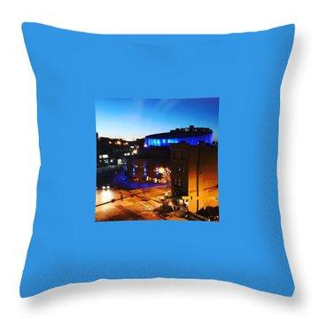 Midtown Neon Throw Pillow