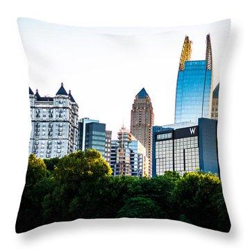 Midtown Skyline Throw Pillow