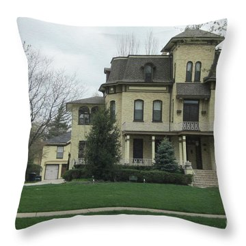 Midwest Home Throw Pillow
