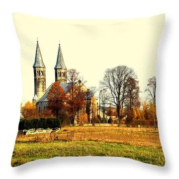 Miedzierza Church Throw Pillow