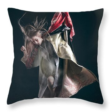 Miegakure - The Fight #3 Throw Pillow