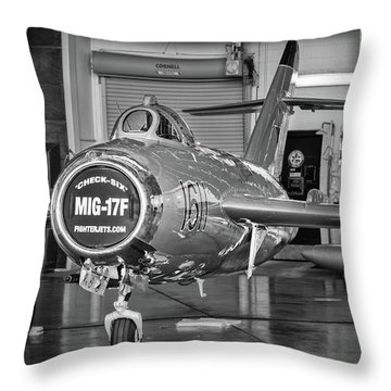 Mig Maintenance Throw Pillow