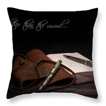 Manuscript Throw Pillows