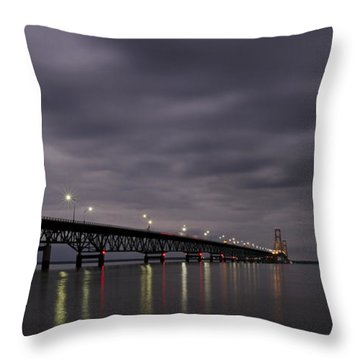 Throw Pillow featuring the photograph Mighty Mac 1 by Heather Kenward