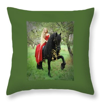 Mighty Step Throw Pillow