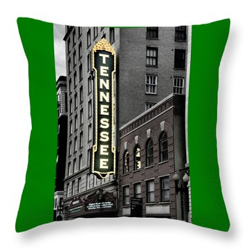 Mighty Tennessee Throw Pillow