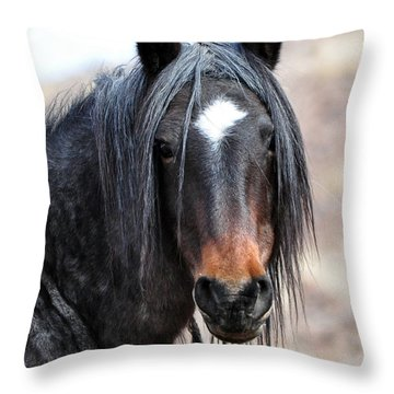 Mighty Warrior Throw Pillow