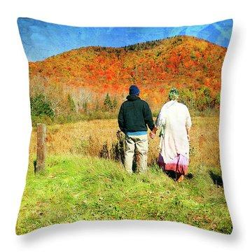 Mike And Lisa Throw Pillow